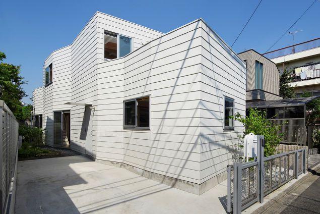 泰進建設 保坂猛建築都市設計事務所-くねくねハウス