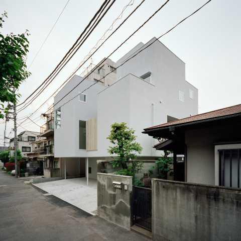 泰進建設 川辺直哉建築設計事務所-江古田の住宅